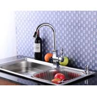 Wholesale Chrome plated streamline sleek design faucets kitchen fittings water taps from china suppliers