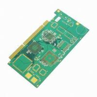 Wholesale UL ROHS 0.1mm Min Space mutilayer immersion Tin Hi-Tg FR-4 printed circuit board prototyping board from china suppliers