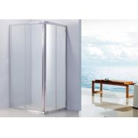 Wholesale Aluminium Handle Sliding Shower Enclosure 1100 x 800 With 15mm Adjustment Angle from china suppliers