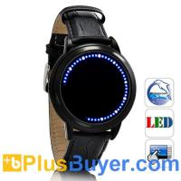 Wholesale Abyss Lite - Japanese-inspired Touchscreen LED Watch - Blue from china suppliers