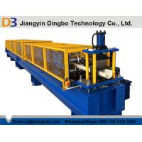 Buy cheap Hydraulic Cutting 45# Forged Steel Gutter Roll Forming Machine 5.5kw from wholesalers
