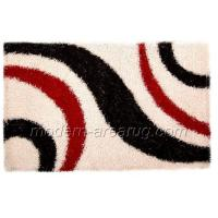 Wholesale Contemporary Design Hand-tufted White, Chocolate, Coffee Polyester Shaggy Rug from china suppliers