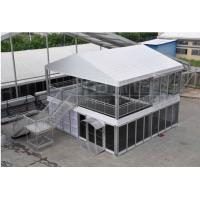 Wholesale Portable Double Decker PVC Tarpaulin Tent for Rental Business , Waterproof from china suppliers