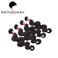 Wholesale Natural Black Virgin Body Wave Peruvian Human Hair Weave 100g from china suppliers