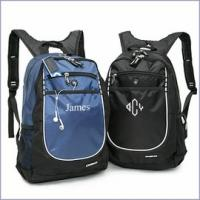 Wholesale Two Colors Organizer Panel Customized Sports Bag Dual-Side Mesh Water Bottle Pockets from china suppliers