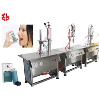 Wholesale Aerosol Spray Filling Machine for Pharmaceuticals Dose Inhaler from china suppliers