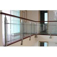Wholesale Heat Resistant Safety Laminated Glass For Staircase Railing, 8mm + 1.14pvb + 8mm from china suppliers