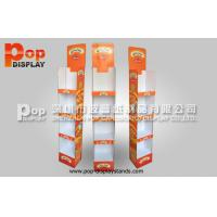 Wholesale Custom OEM  Corrugated Cardboard Display Stand 4 Tiers Light Duty Stand from china suppliers