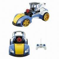 Wholesale Blue Color 8-channel RC Deformation Cars, Measuring 16 x 16 x 10cm from china suppliers