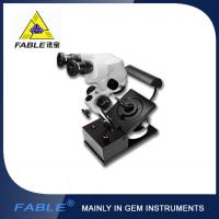 Wholesale Generation 1st  Swing arm type Gem Microscope With F15 binocular lens from china suppliers