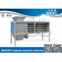 Buy cheap Automatic Non Ferrous Metal separator , 5 Layer Magnetic Rod Cabinet For Dried-powder from wholesalers