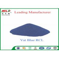 Wholesale 100% Purity Blue Vat Dye RCL Vat Dyes Dyestuffs Powder For Cotton Fabric from china suppliers