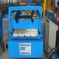 Wholesale 840 Roof Steel Tile Roll Forming Machine with Galvanized Board for Transportation from china suppliers