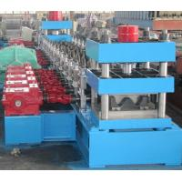 Wholesale Expressway Safety Fence Guardrail Anti Crash Barrier Automated Roll Forming Machine Export Estonia CE Standard from china suppliers
