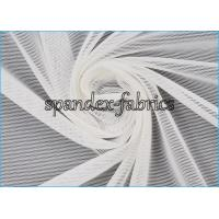Wholesale Plain Dyed White Power Mesh Fabric 84% Nylon 16% Spandex 20D/70D 75gsm from china suppliers