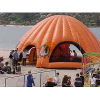 Wholesale 10*10*5m Advertising Inflatable Dome Tent Orange For Clubs from china suppliers