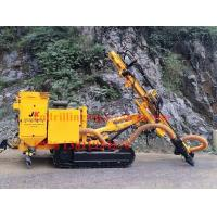 Wholesale Crawler DTH rock drilling rig machine with hydraulic dry dust collector from china suppliers