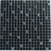Wholesale Marble Crystal Stone Glass Mosaic Tile , Clored Mix Hotel Floor Tile from china suppliers