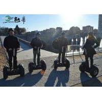 Wholesale Personal Travel Two Wheel Stand Up Electric Scooter Black , Height Adjustable from china suppliers