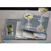 Wholesale FREE Individual Package Mirroed Acrylic Serving Tray Any Size from china suppliers