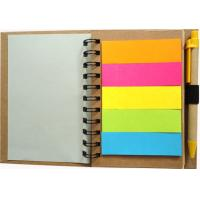 Wholesale 108 GSM kraft paper and 2mm grey board Recycled Paper Notepad from china suppliers