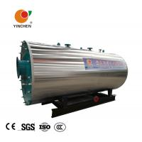 Wholesale Oil Gas Fuel 3 Pass Smoke Tube Boiler , Industrial Gas Boiler Compact Structure from china suppliers