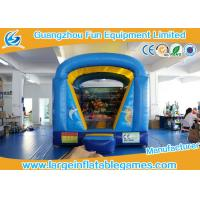 Wholesale 4*3m 0.55mm PVC Inflatable Bouncy Castle With Seaworld Printing from china suppliers