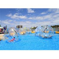 Wholesale T-ZIP Zipper Inflatable Walking Water Ball 2M Diameter Acceptable Logo Printing from china suppliers