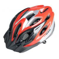 Wholesale competive price NEW Cycling Bicycle MERIDA Adult Mens Bike Helmet RED with Visor from china suppliers