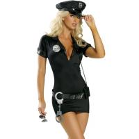 Wholesale Hot Pursuit Cop Costume Party Adult Costumes for Carnival Christmas Halloween from china suppliers