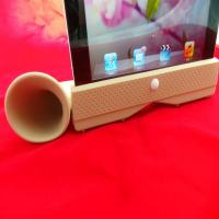 Wholesale Detachable Ipad Silicone Skin Case Amplifier / Stand For Apple Iphone from china suppliers