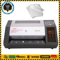 Wholesale 6 Rollers Office Laminating Machine A3 A4 A5 A6 Size Heating Elements Laminator from china suppliers
