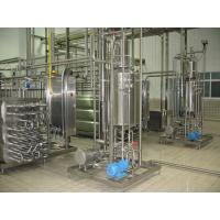UHT milk production line