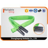Wholesale Color Code Flat Webbing Sling Polyester Eye And Eye Sling Double Ply Lifting Strap from china suppliers