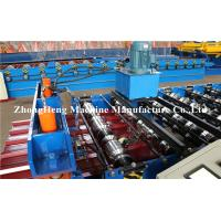 Wholesale Colorfull Metal Roofing Sheet Roll Forming Machine With Double Cylinda And Panasonic Control System from china suppliers