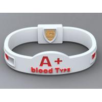 Wholesale Custom Silicone Bracelets Custom Rubber Bracelets For World Cup from china suppliers