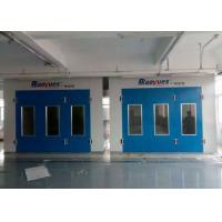 Wholesale 6.9M Downdraft Spray Painting Room Diesel Burner Drying Chamber For Workshop from china suppliers