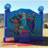 Wholesale Full Printing Frozen Inflatable Bounce Houses PVC Coated Material from china suppliers
