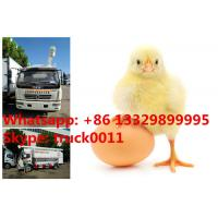 Wholesale bottom price 4-5tons hydraulic poultry feed truck for chick farm for Philipines, hot sale 11m3  feed transported truck from china suppliers
