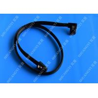 Wholesale Internal Mini SAS(SFF-8087) 36Pin Right Angle Male to Internal Mini SAS (SFF-8087) 36Pin Male Cable, 0.75 Meterr from china suppliers