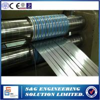 Buy cheap 206.3KW Power Steel Coil Slitting Machine Hr Slitting Line With Scrap Winder from wholesalers
