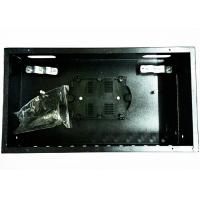 Wholesale Black Fixed Fiber Termination Box , 12 Port Fiber Optic Patch Panel Rack Mount from china suppliers
