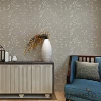 Buy cheap Natural Plant Fur Fiber Particles Classic Style High-Grade Unique Technology Wallpaper from wholesalers