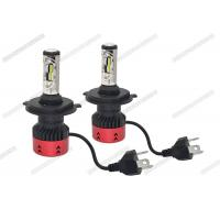 Buy cheap Anti Glare 4800LM 6500K LED Headlight / H4 LED Headlight Bulb For Automotive from wholesalers