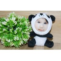 Wholesale Novelty Photo Mask toys Stuffed Plush gift 3D Face Doll 10CM Panda from china suppliers