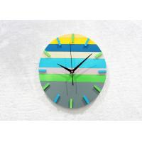 Wholesale 12 Inch Round Large Decorative Backwards Wall Clock Silent Movement from china suppliers