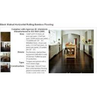 Buy cheap Black Walnut Stained Color Bamboo Flooring from wholesalers