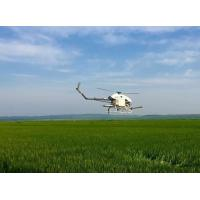 Wholesale Precision Drone Agriculture / Flybarless Gas Powered RC Helicopter 5-6 Meters Spraying Width from china suppliers