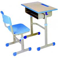 Quality Metal Frame School Desks And Chairs With Certifocation ISO9001 for sale