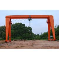 Wholesale MH Type Single Beam Gantry Crane Electric Gantry Crane 100 Microns Average Thickness from china suppliers